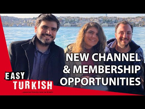 Learn Turkish with Easy Turkish - new channel and membership program! photo