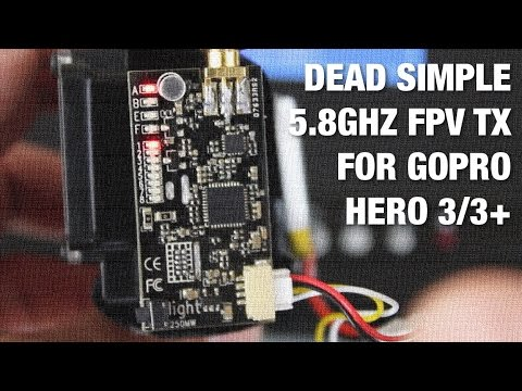 Dead Simple 5.8GHz FPV Transmitter for GoPro Hero 3/3+ - UC_LDtFt-RADAdI8zIW_ecbg