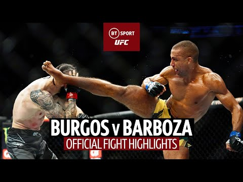 Barn-burner! 🔥 Shane Burgos v Edson Barboza | UFC 262 Fight Highlights