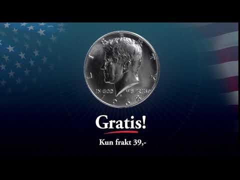 50 års-jubileum for månelandingen - Gratis minnemynt!