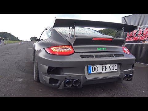 1400HP 9FF Porsche 997 GTronic vs 800HP Audi S2 Avant