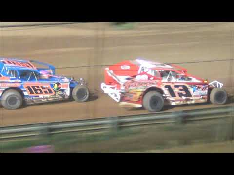 The BRP Big Block Modified Tour feature from the Tyler County Speedway near Middlebourne, West Virginia on June 29, 2019. www.OVDTR.com - dirt track racing video image