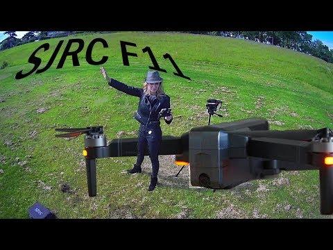 SJRC F11 drone | Brushless GPS FPV | Drone Review | Flight test | Part I - UC_tMoGN53YsIz4BBn8Y0kBQ