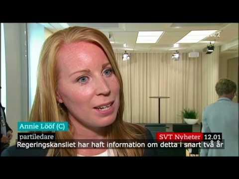 Annie Lööf angående säkerhetskrisen som ägt rum hos Transportstyrelsen