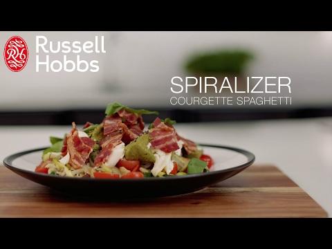 Hur man gör en zucchinisallad med hjälp av Russell Hobbs Ultimate Spiralizer (kort)