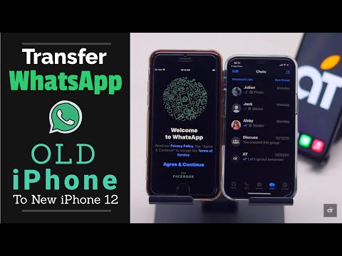 Transfer WhatsApp from Old iPhone to iPhone 12, 12 Mini, 12 Pro, 12 Pro Max