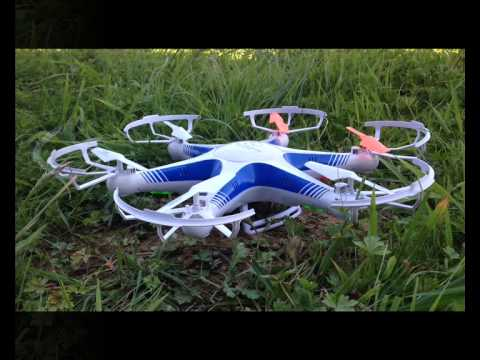 grasshopper 744m test single camera hexacopter - 480×360