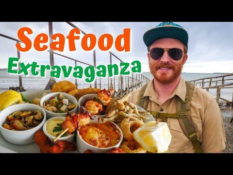 SEAFOOD EXTRAVAGANZA in Coastal Patagonia 🍤😋 + FIRST IMPRESSIONS of Comodoro Rivadavia, Argentina