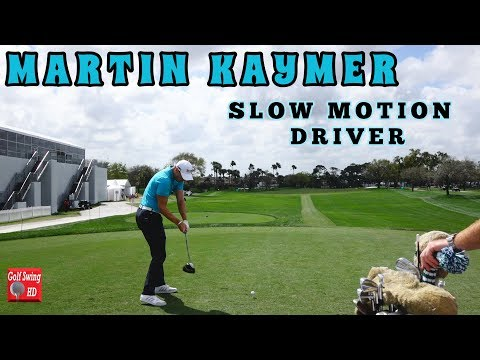 MARTIN KAYMER SLOW MOTION DTL DRIVER GOLF SWING 1080 HD