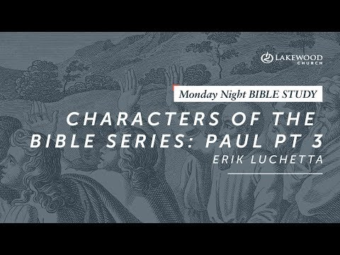 Erik Luchetta - Characters of the Bible Series: Paul, Pt 3 (2019)