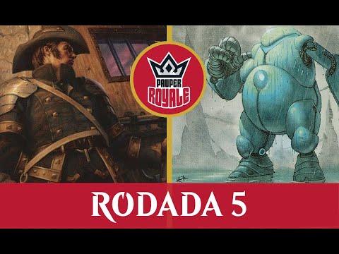 Jeskai Affinity VS White Weenie - Pauper Royale 3.09 - Rodada 5