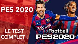 vidéo test Pro Evolution Soccer 2020 par ActuGaming