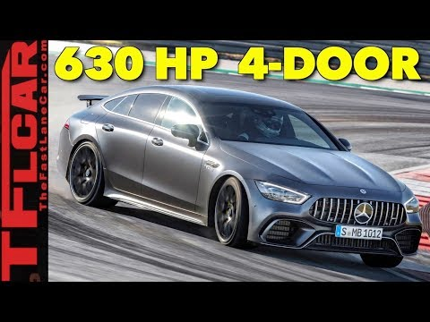 2019 Mercedes GT 63S AMG Beast: Watch Out BMW M5 and Porsche Panamera!