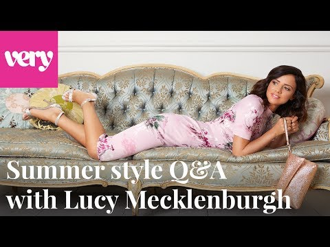 very.co.uk & Very Promo Code video: Style Q&A with Lucy Mecklenburgh