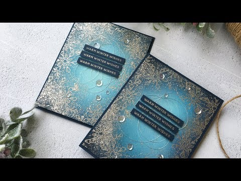 Messy Heat Embossing w/Dawn ft. MERRIEST SNOWFLAKE