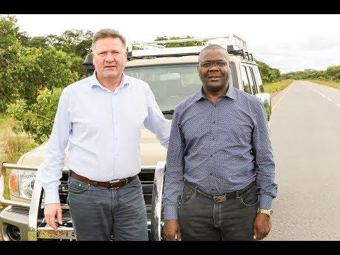 Unterwegs im Osten von Angola