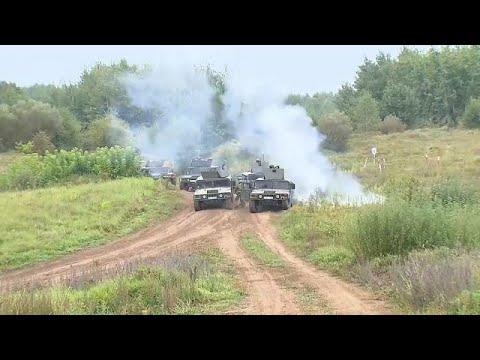 Nem szűnik a feszültség az orosz-belarusz hadgyakorlat után