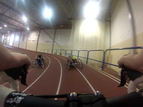Prova på - inomhusträning Paracykel  Borås 1/12 2013