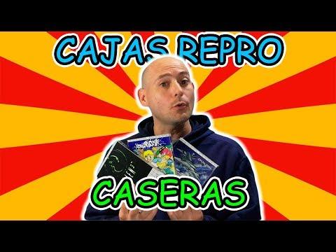 CAJAS REPRO PARA VIDEOJUEGOS + PLANTILLA GAME GEAR