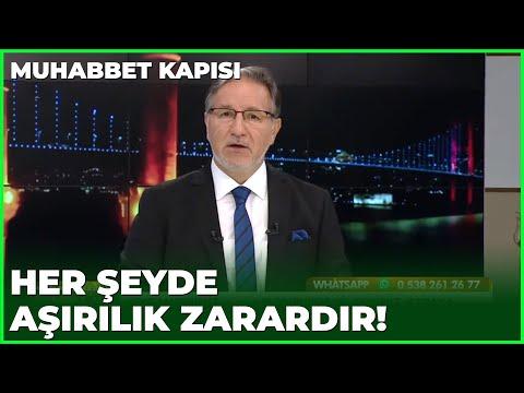 Prof. Dr. Mustafa Karataş İsraf Hakkında Konuşuyor - Prof. Dr. Mustafa Karataş ile Muhabbet Kapısı