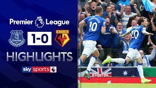 HIGHLIGHTS | Everton 1-0 Watford | Premier League | 17th August 2019