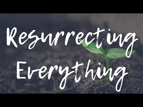 I Am Resurrecting & Restoring Everything!