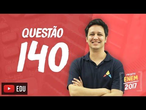Enem 2016: Questão140(CadernoRosa)
