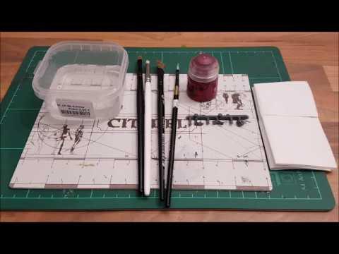 Warhammer / Tabletop für Anfänger HD★ Dry Pinsel, erklärt/Funktion/ Besonderheit ★ How to paint