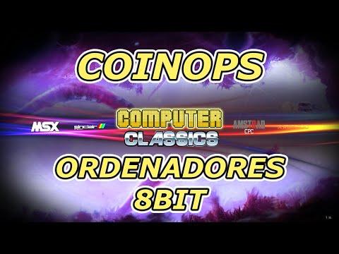 Ordenadores de 8 bits en tu CoinOPS   C64 AMSTRAD SPECTRUM MSX ATARI