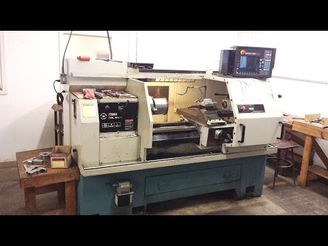 ProtoTRAK TRL 1840SX CNC Lathe demo video