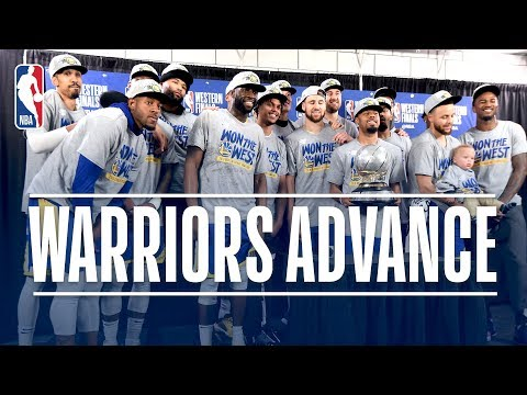 The Golden State Warriors Advance to Their 5th Consecutive NBA Finals | May 20, 2019