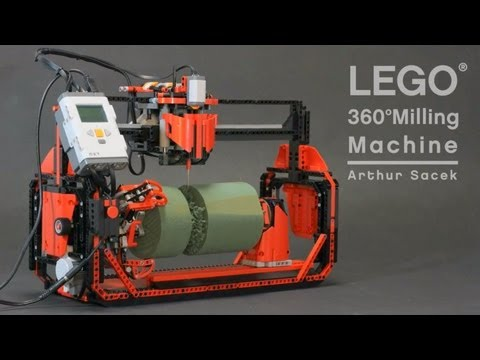 LEGO 360° Milling Machine - UCblfuW_4rakIf2h6aqANefA