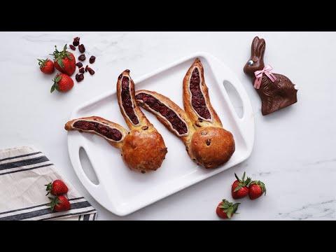 Bunny Ear Sweet Buns ? Tasty Recipes