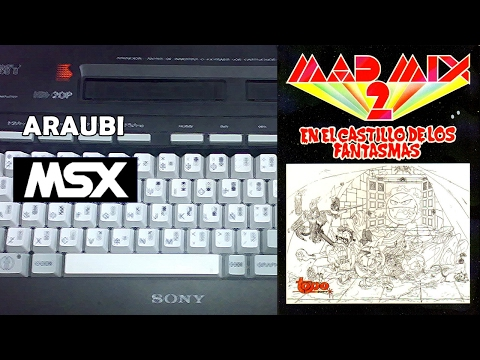 Mad Mix 2 (Topo Soft, 1990) MSX [145] Walkthrough Comentado