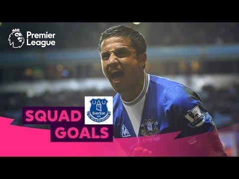 Excellent Everton Goals | Cahill, Sigurdsson, Mirallas | Squad Goals