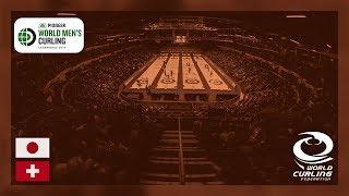 Japan v Switzerland - Bronze medal - Pioneer Hi-Bred World Men's Curling Championship 2019