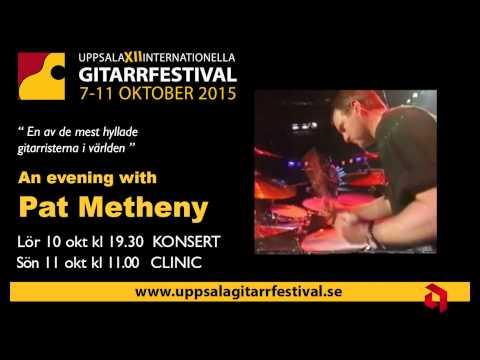 Pat Metheny KONCERT CLINIC Uppsala 2015