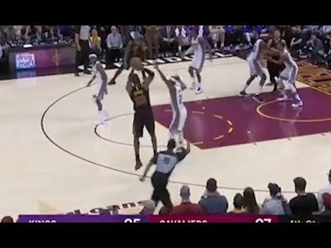LeBron James Drills Dagger Three-Pointer Against Kings for Cavs 13th Straight Win