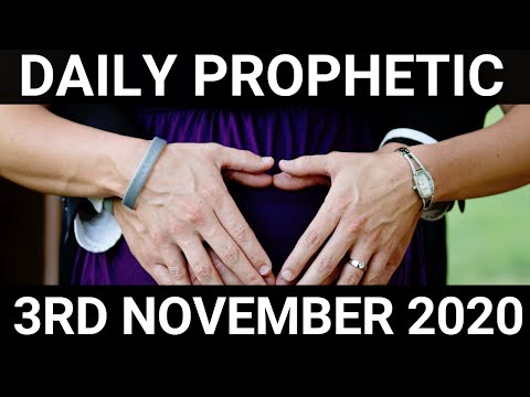 Daily Prophetic 3 November 2020 1 of 12 Subscriber for Daily Prophetic Words