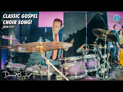 Classic Gospel Choir Song! // Drum Vlog