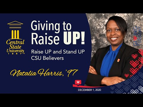 Giving to Raise UP! - Alumna Natalia Harris '97