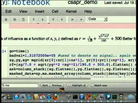 Image from Py-ART: Python for remote sensing science