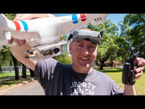 I put a FPV camera and transmitter on a cheap toy drone. - UCj8MpuOzkNz7L0mJhL3TDeA