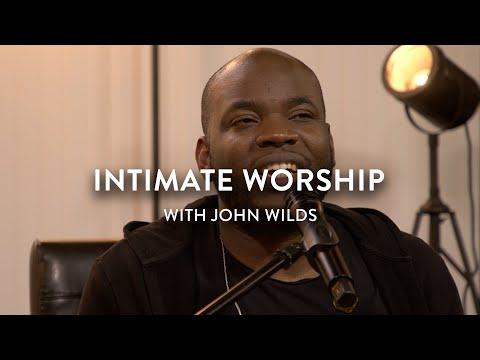 Intimate Worship  Jesus Image  John Wilds