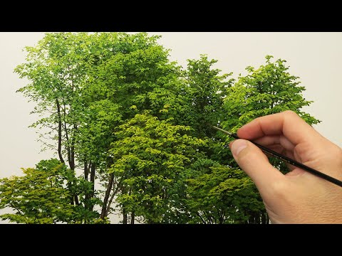 Tree Study Oil Painting | Timelapse | Episode 207