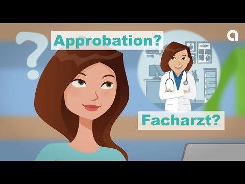 Vom Medizinstudium über die Approbation zum Facharzt - so geht's!