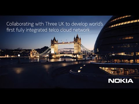 Nokia and Three UK collaboration
