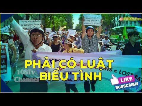 Lo sợ dân bóp na't đảng, Nguyễn Phú Trọng cương quyết không cho ra đời Luật Biểu tình?[108Tv]
