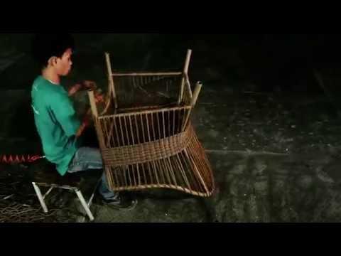 Weaving a Chair