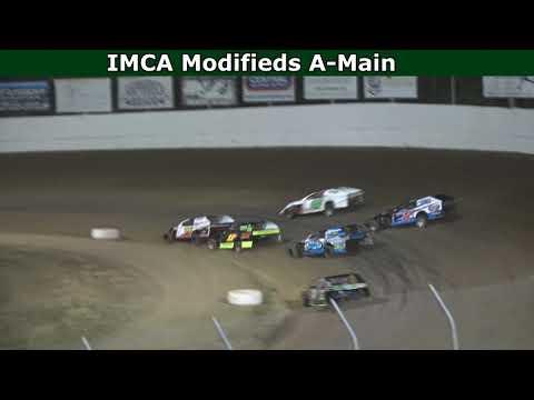 Grays Harbor Raceway, July 10, 2021, IMCA Modifieds A-Main - dirt track racing video image